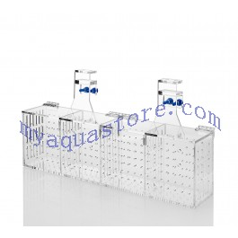 Acrylic aquarium system installation accessories accessory barrier box FSB-4A fourfold