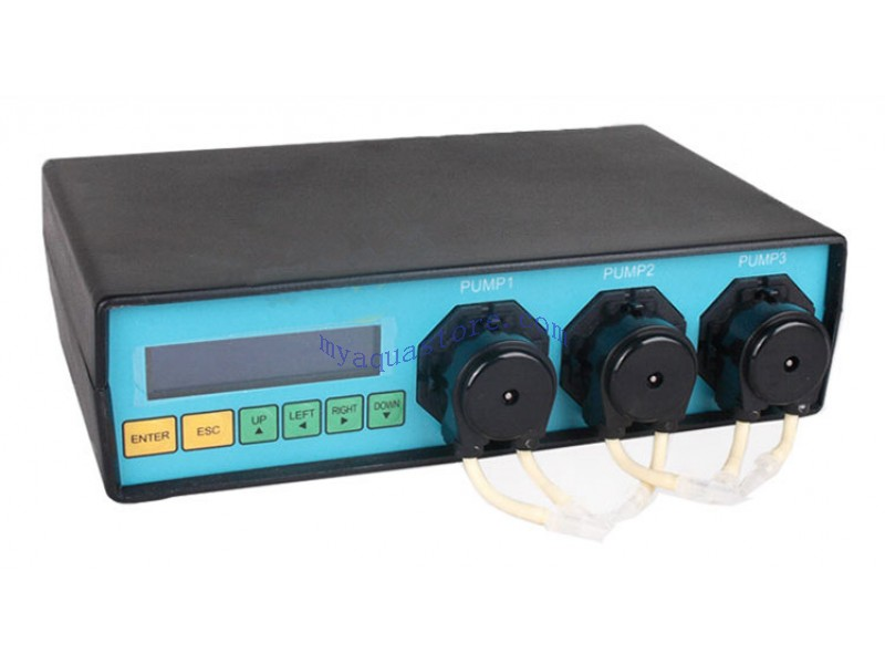 Marine Color Dosing pump MCD-3-M manage up to 6 channel of expansion