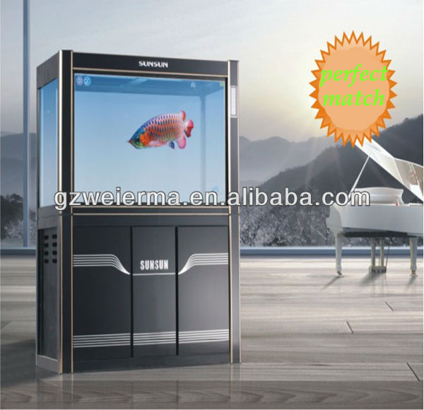 New Flow Adjustable Aquarium UV Clarifier Filter Pump