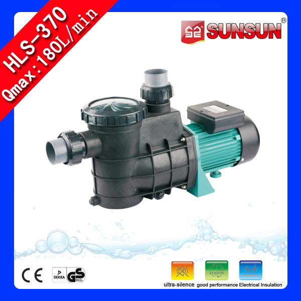 Sunsun high flow pond pump pool water pump high pressure for Pond water pump