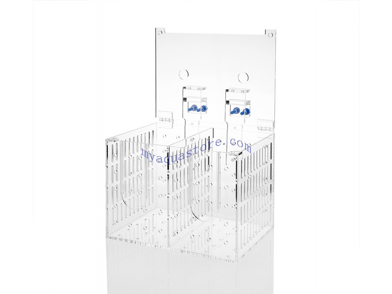 Acrylic aquarium system installation accessories accessory barrier box FSB-2B bunk