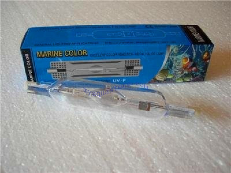 HQI 150W METAL HALIDE BULB Double Ended R7S socket MARINE COLOR brand
