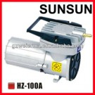 100W DC 24V Oil-free Industrial Magnetic Air Blower HZ-120A adopt super-quality DC permanent magnetic motor