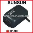 2-outlet 2.5W Fish Tank Aquarium Super Quiet Air Pump HP-200