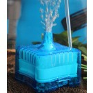 richuang  Fish Tank Aquarium Pump Air Driven Bio Corner Filter Sponge