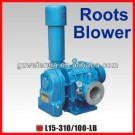 7.5KW~15KW 10.05HP~20.11HP Industrial Electric Roots Blowers L20-420/120-LB