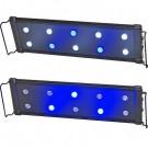 "EVO 18"" LED Aquarium Light Nano Marine Coral Reef Cichlid Lunar 45 cm 10x 3 Watt"