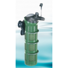 All-round flexibility aquaball filter with spherical head