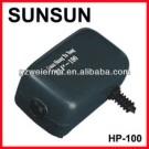 Fish Tank Aquarium Oxygenation Super Silent Air Pump 2.5W HP-100