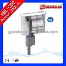 Hang on Aquarium Power Filter for Desktop/Small fish tanks HBL-302