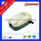 SUNSUN 2*1.5L/min two OUTLET fish air pump YT-302