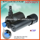 SUNSUN 55W Aquarium Bottom Filter Water Pump with 9W UV Sterilizer CUP-4000