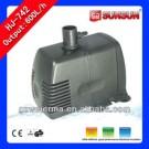 SUNSUN 600L/h Submersible Small Water Pump for Aquarium with Filter Foam   HJ-742