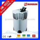 SUNSUN Aquarium Canister Filter HW-402A high efficiency, big capacity and multi-functional: with built-in UV sterilization.
