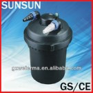 SUNSUN GS/CE Pressurised Koi Pond Cleaning Filter with Built-in 11w UV 9000 Litres CPF-280