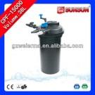 SUNSUN High Output Garden/ Pond Bio Press sponge Filter CPF-15000
