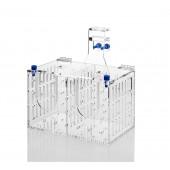 Acrylic aquarium system installation accessories accessory barrier box FSB-2A bunk