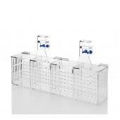 Acrylic aquarium system installation accessories accessory barrier box FSB-4A fourfold