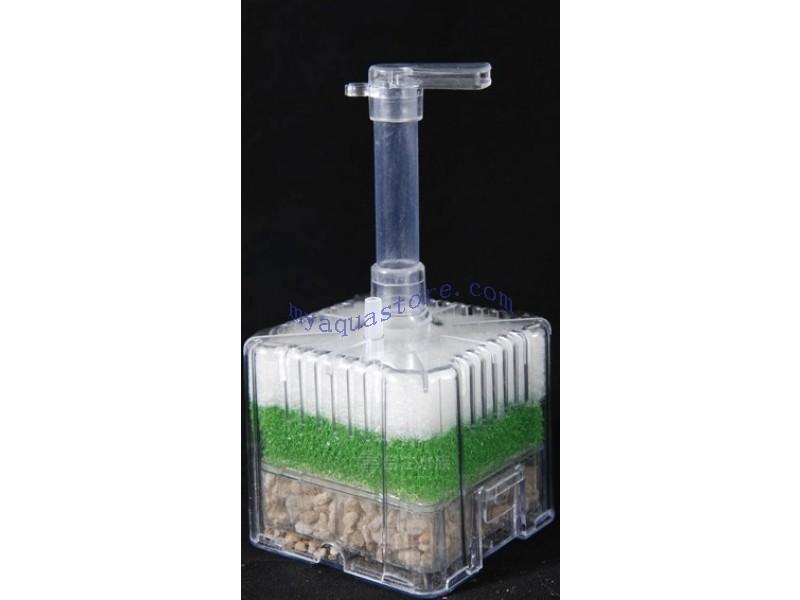 Häufig Xinyou Xy-2011 Fisch Tank Aquarium Pumpe Driven Bio Luftfilter Schwamm LW31